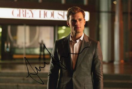 Jamie Dornan, Fifty Shades of Grey, signed 12x8 inch photo.